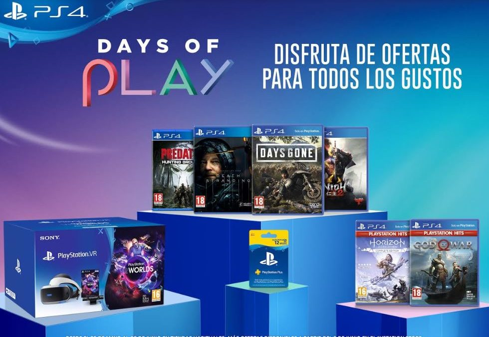 Llegan las ofertas de PlayStation con los Days of Play