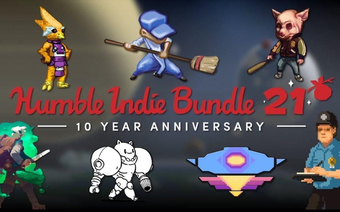 Humble Indie Bundle celebra su 10º aniversario con un nuevo pack conmemorativo
