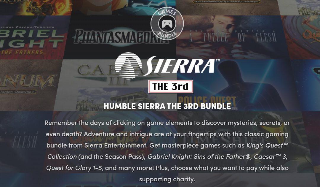 Humble Bundle nos redescubre los clásicos de Sierra con su nuevo recopilatorio