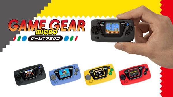 SEGA presenta Game Gear Micro por su 60 aniversario