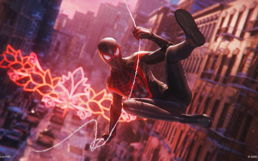 Spider-Man: Miles Morales es un juego independiente y de escala semejante a la de Uncharted: El Legado Perdido