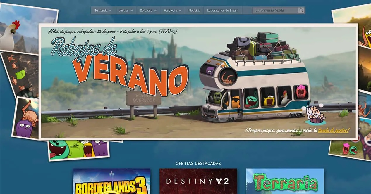 Steam da comienzo a sus ofertas de verano renovando su faceta ...