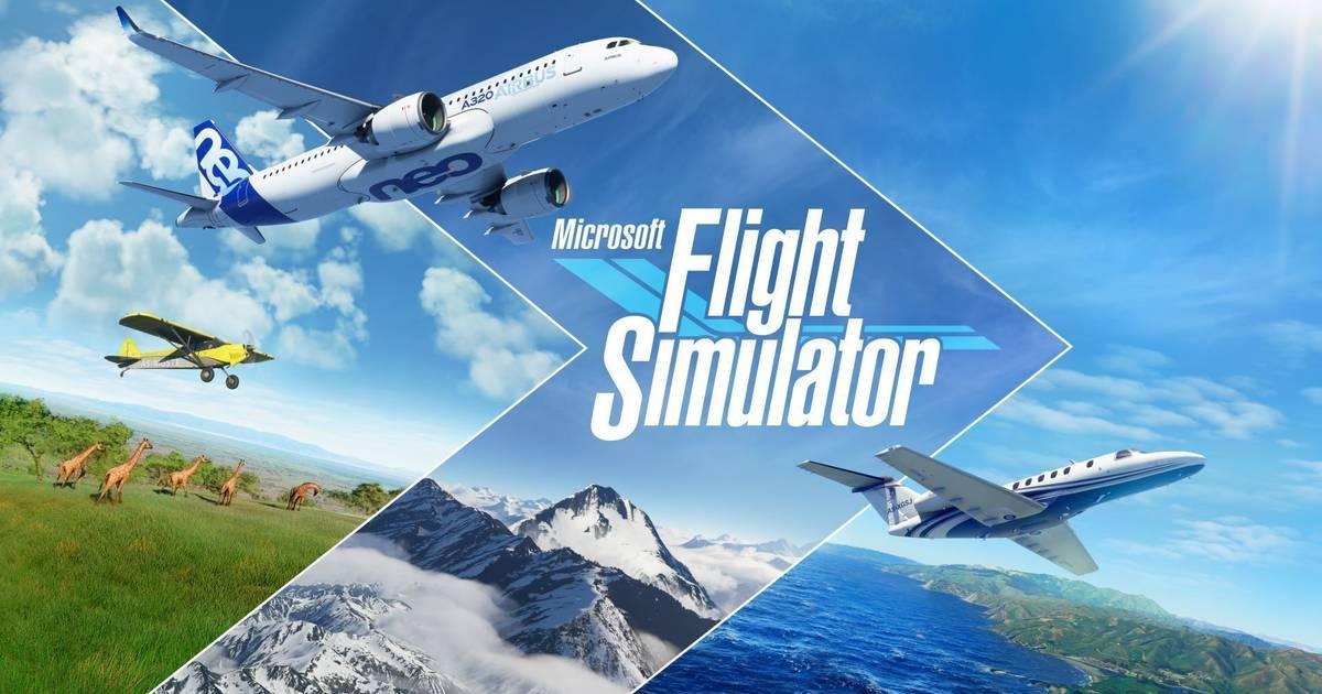 Microsoft Flight Simulator para PC tendrá una edición física compuesta de 10 DVDs