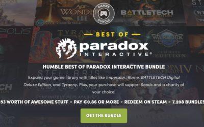 Paradox llena Humble Bundle de estrategia con un nuevo pack de sus títulos clásicos