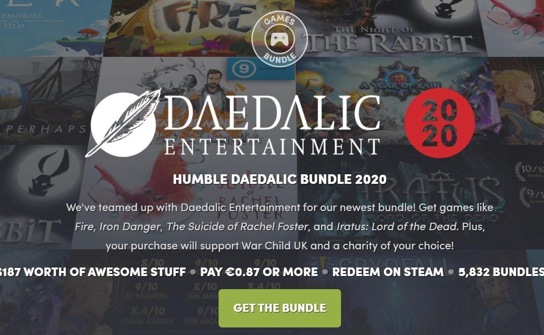 Humble Bundle y Daedalic se alían con una nueva recopilación de videojuegos