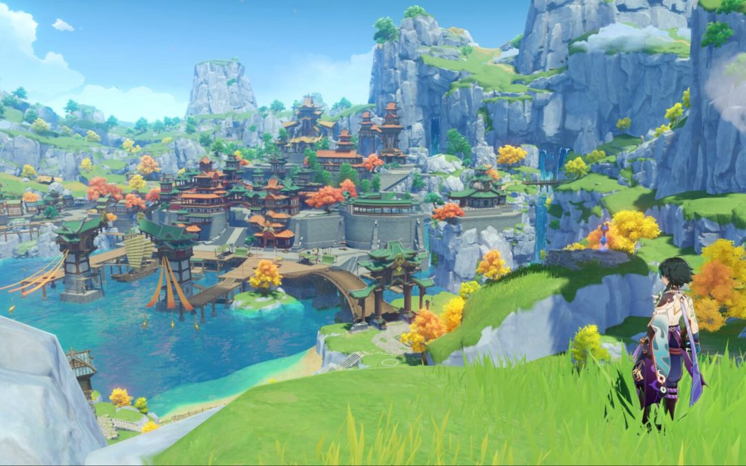 Geshin Impact, un actionRPG free to play, llegará el 28 de septiembre a PS4