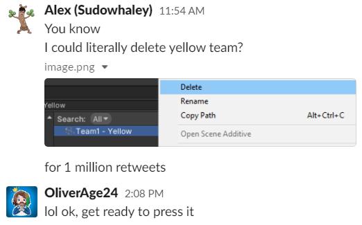 Fall Guys eliminará al Equipo Amarillo si uno de sus tweets llega al millón de RTs