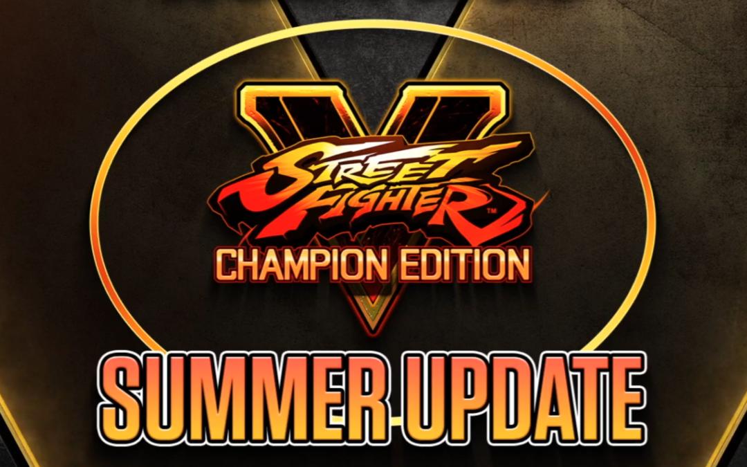 Resumen Street Fighter V Summer Update