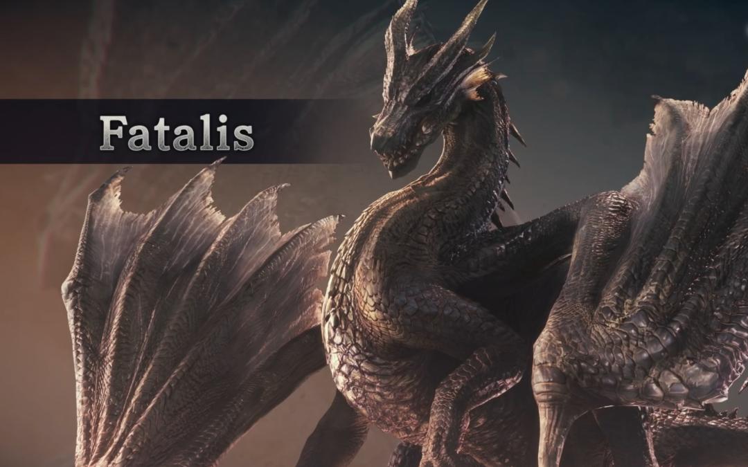 Fatalis será el protagonista de la última gran actualización de Monster Hunter World