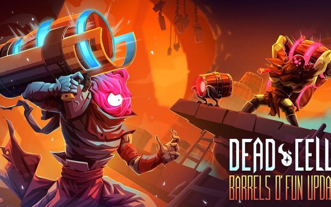 Dead Cells: Lanza barriles explosivos a tus enemigos con la nueva actualización