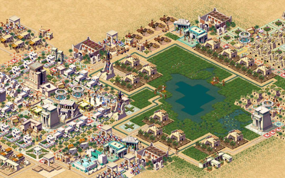 Pharaoh: el legendario city builder regresa con un remake