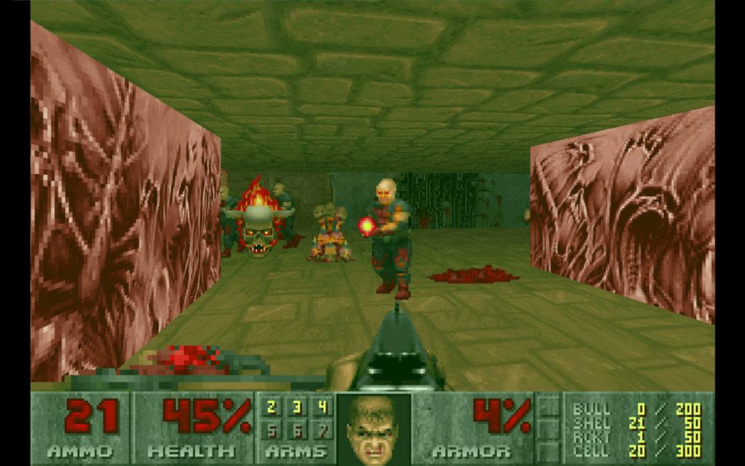 Doom y Doom II ya son compatibles con pantallas panorámicas y nuevos tipos de controles, entre otros