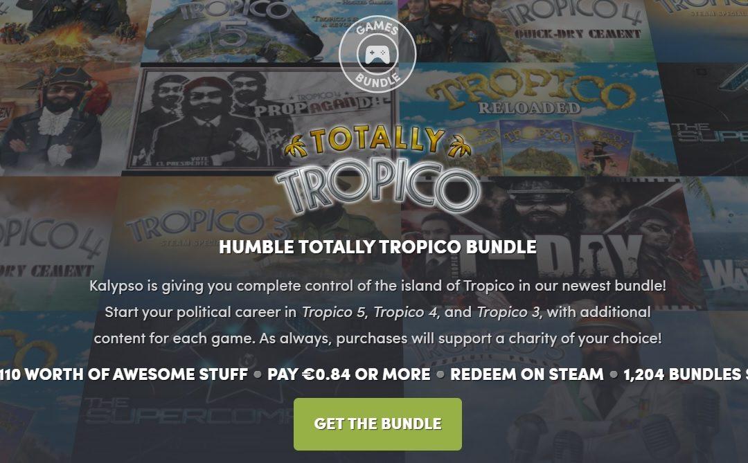 Tropico: Hazte con la saga gracias a Humble Bundle