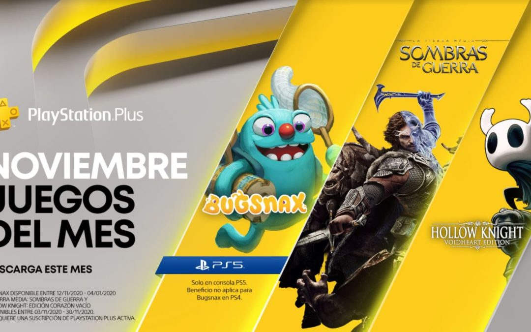 Anunciados los juegos para PlayStation Plus y Games with Gold de noviembre, nuevos detalles de PS Plus Collection
