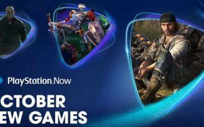 Juegos PS Now en octubre, audio 3D en PS5 con auriculares desde el día 1