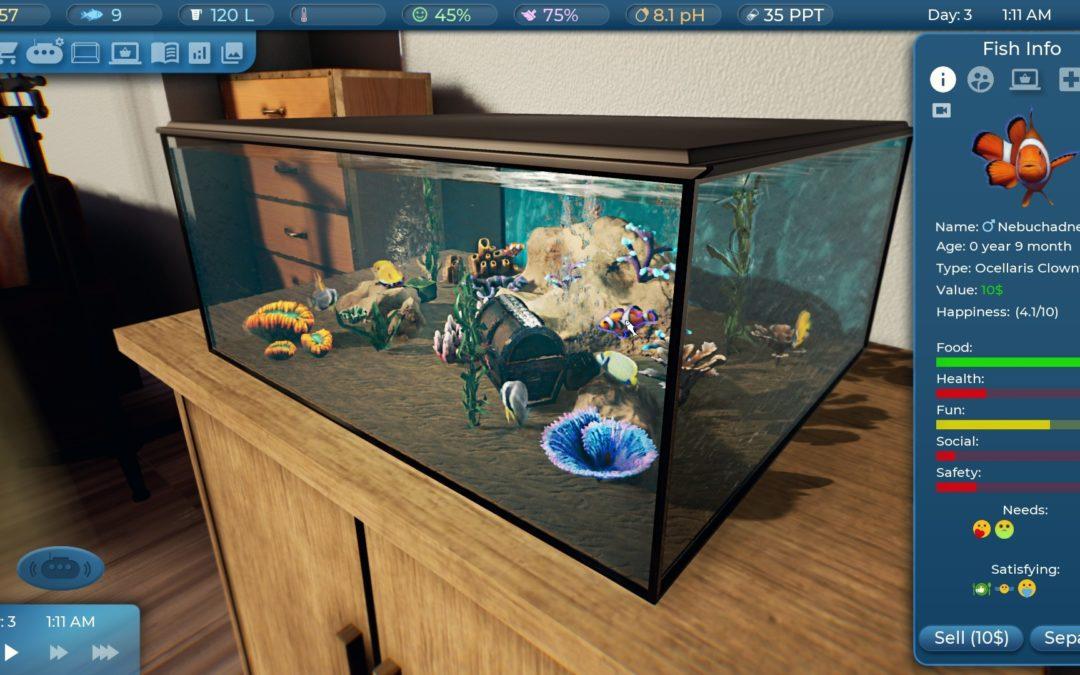 La propuesta de Fishkeeper sorprende: así podemos gestionar nuestro acuario virtual