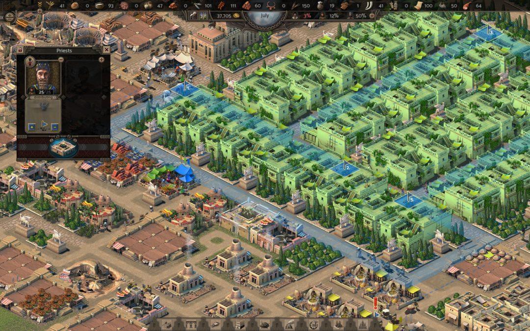 Nebuchadnezzar: el trono por los city builder históricos se disputa en 2021