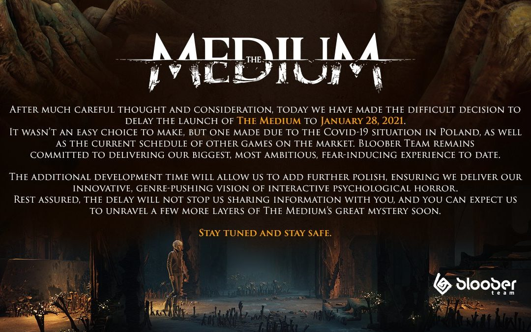 The Medium retrasa su lanzamiento en Xbox Series X y S, y PC, hasta 2021