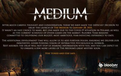 The Medium retrasa su lanzamiento en Xbox Series X y S, y PC, hasta 2021