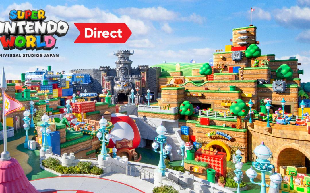 Acompañad a Miyamoto en su visita al parque temático de Super Nintendo World