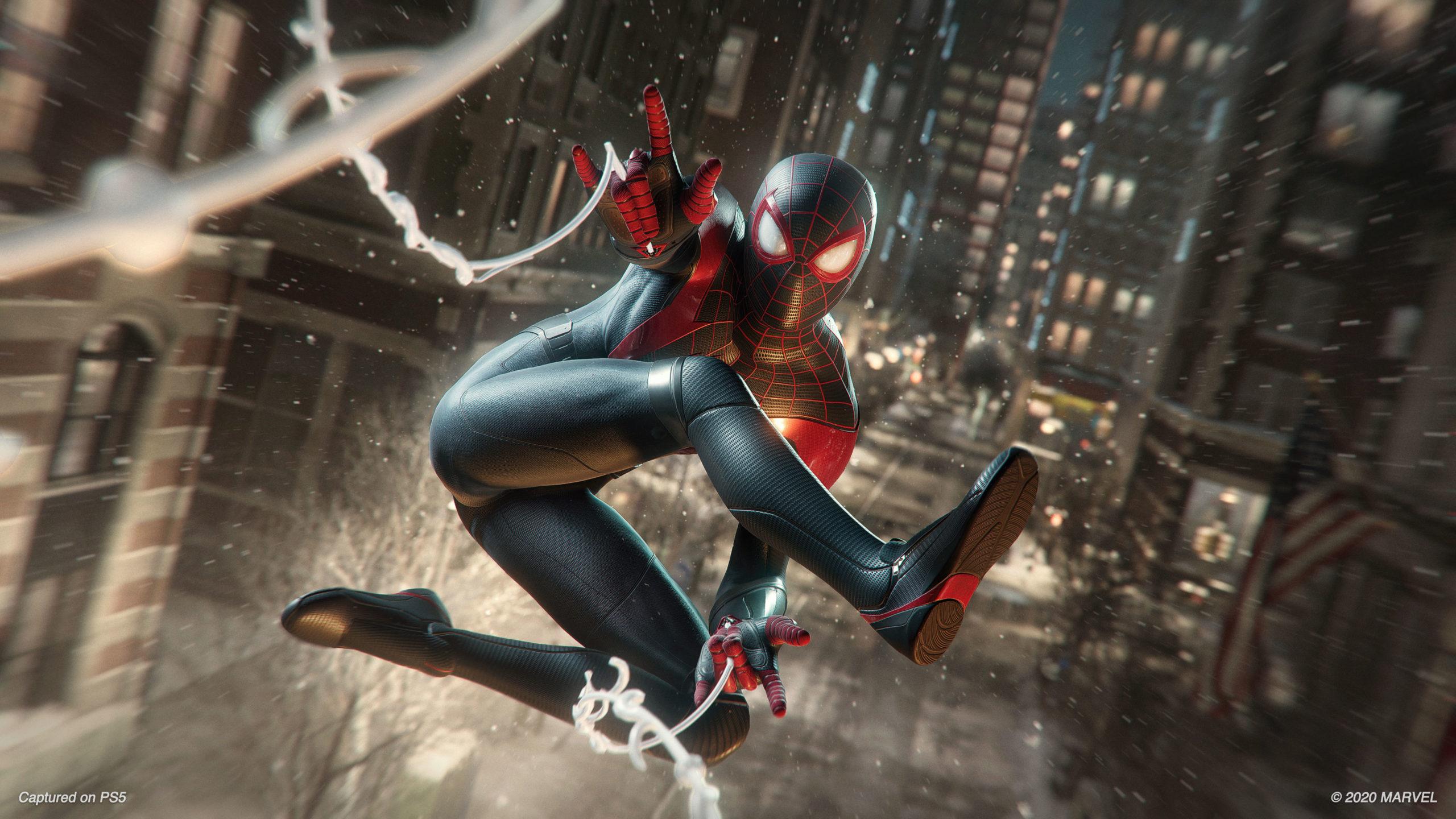 El Spider-Man Miles Morales de PS5 añade una opción que permite jugar a 60 fps con raytracing