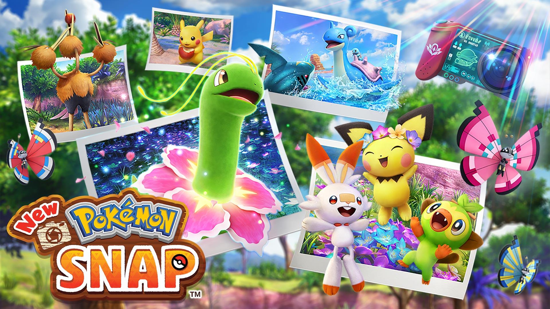 Nuevos detalles de New Pokémon Snap (tamaño del juego y características)