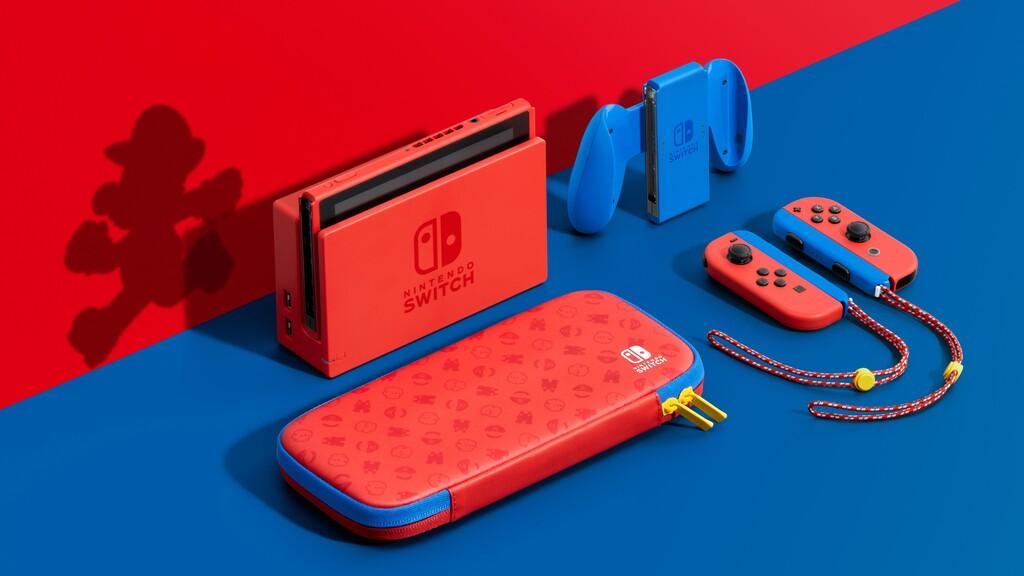 Nintendo descubre una Switch edición Mario y nuevo tráiler de Super Mario 3D World + Bowser's Fury