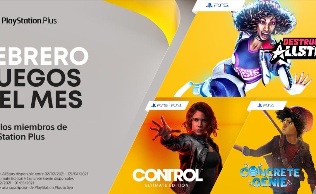 Anunciados los juegos de PlayStation Plus y Games with Gold para febrero