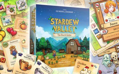 Stardew Valley lleva sus granjas a los tableros con su juego de mesa