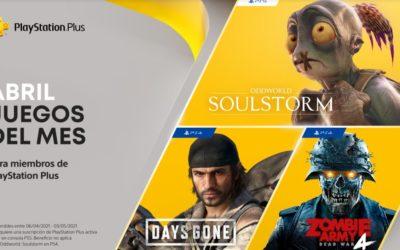 Anunciados los juegos de PlayStation Plus y Games with Gold para abril