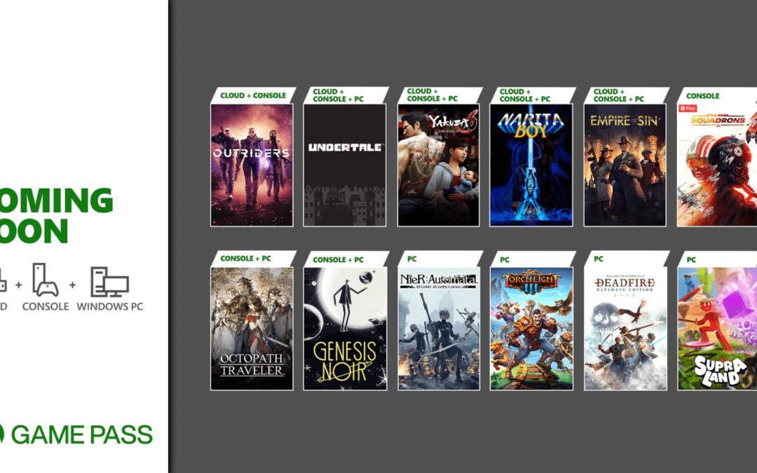 Outriders, Yakuza 6, Octopath Traveller y mucho más llegan a Xbox Game Pass