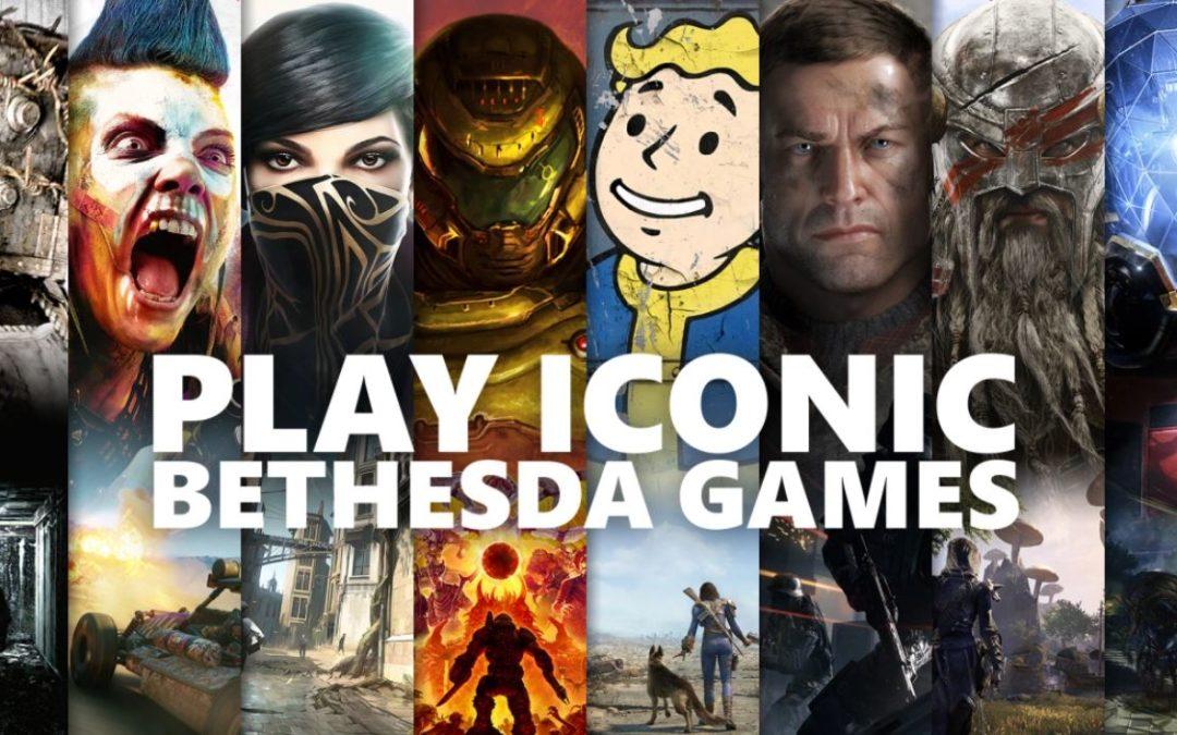 A partir del 12 de marzo, 20 clásicos de Bethesda estarán disponibles en Game Pass