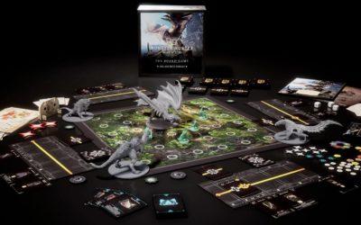 El juego de mesa de Monster Hunter: World inicia su Kickstarter este 20 de abril