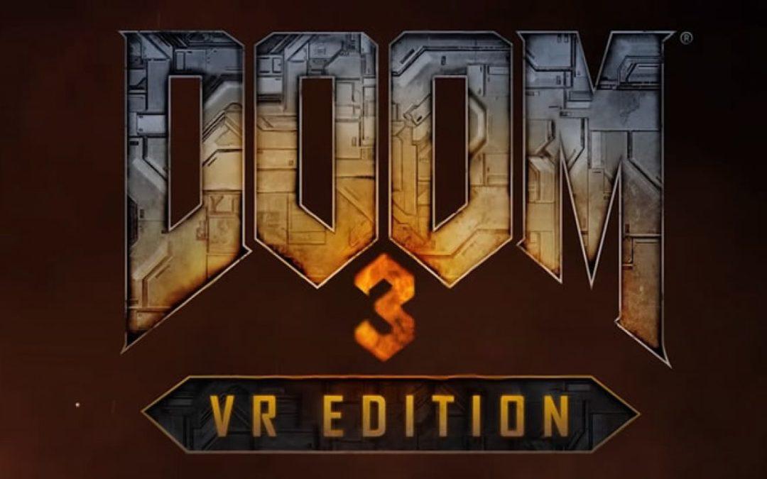 6 nuevos juegos anunciados para PS VR, entre ellos DOOM 3: VR Edition
