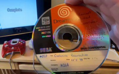 Se muestra un prototipo jugable de Castlevania: Resurrection (juego cancelado para Dreamcast)