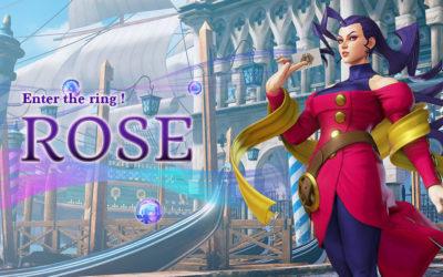 Rose aterriza mañana en Street Fighter V: Champion Edition