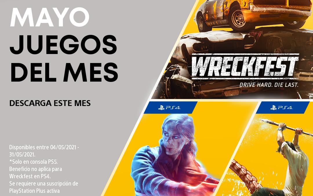 Desvelados los juegos de mayo en PlayStation Plus y Games with Gold