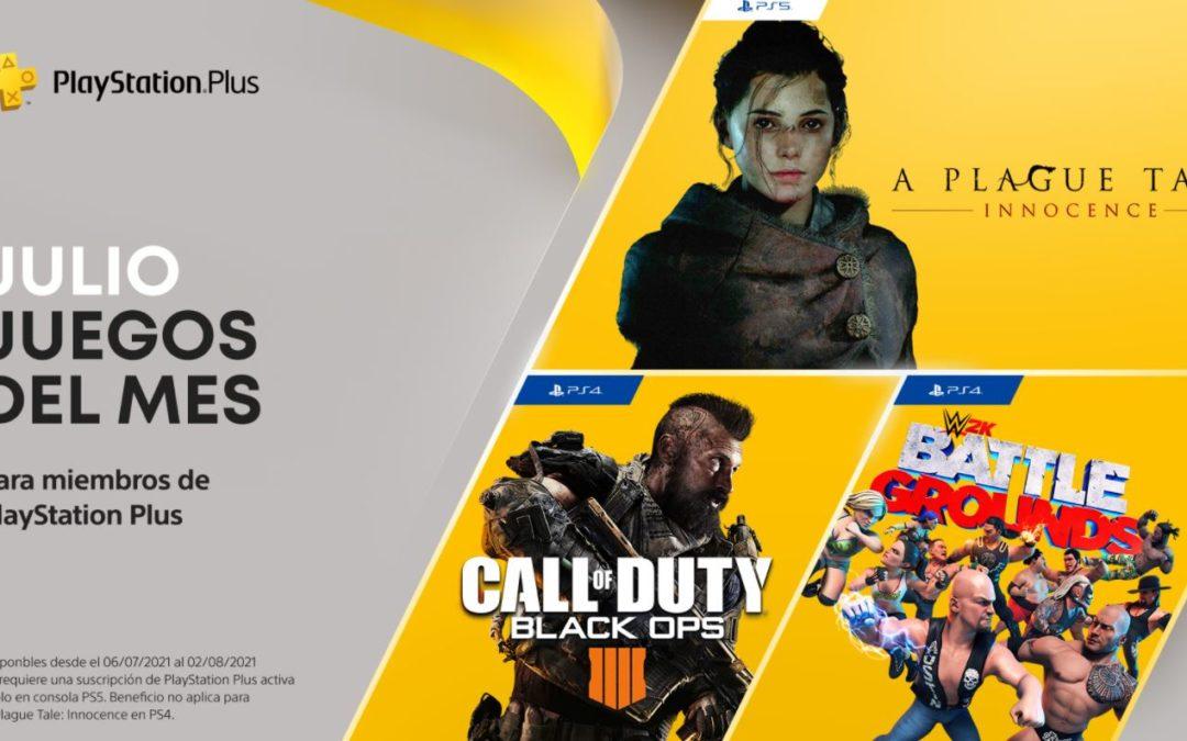 Anunciados los juegos de PlayStation Plus y Games with Gold para julio