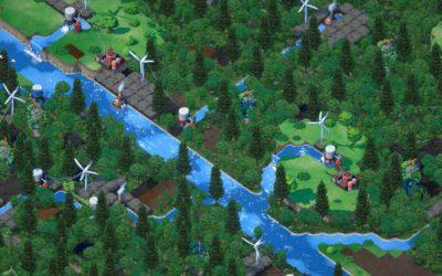 Terra Nil: Devolver Digital presenta su city builder ecologista