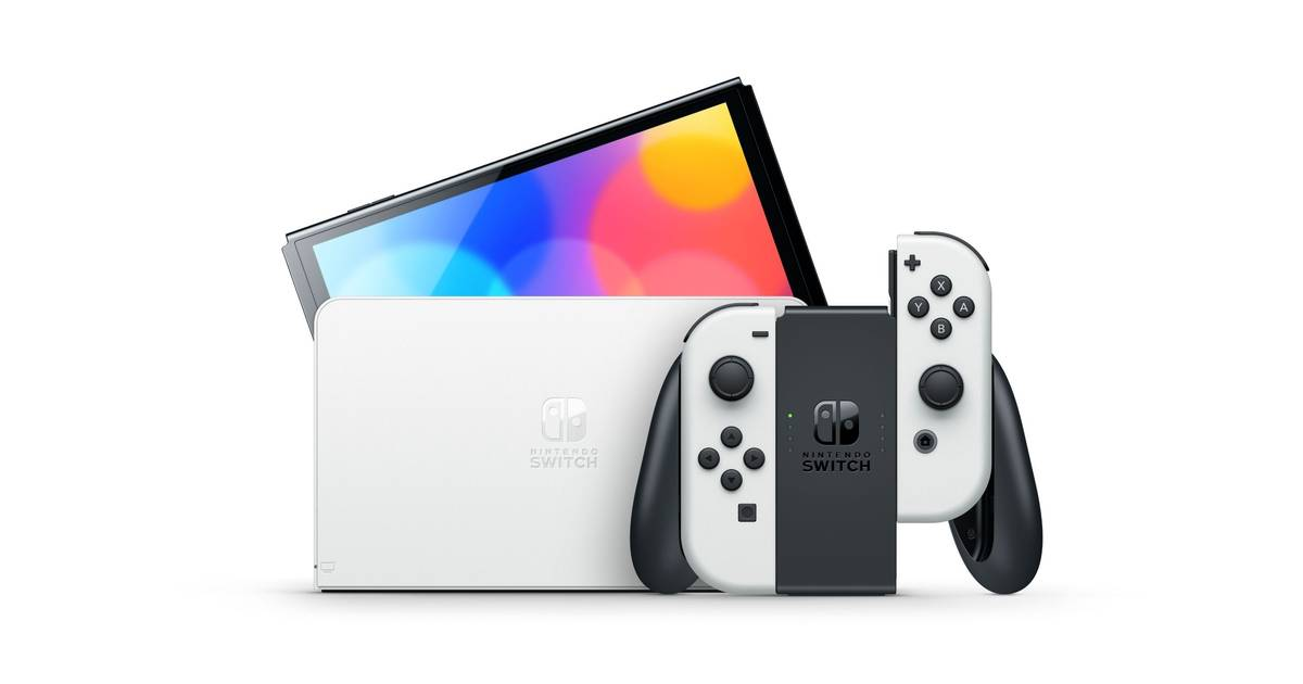 Anunciada Nintendo Switch OLED, a la venta el 8 de octubre por 349,99€