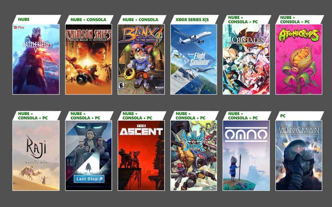 La nueva hornada de juegos en Game Pass incluye Microsoft Flight Simulator, Blinx, The Ascent y más
