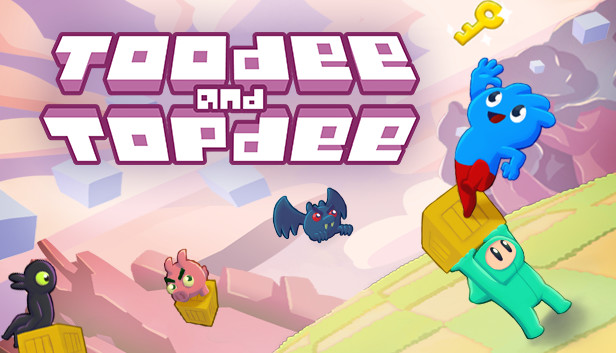 Toodee and Topdee, plataformas y puzles a ritmo de 2D, a la venta el 4 de agosto en Steam