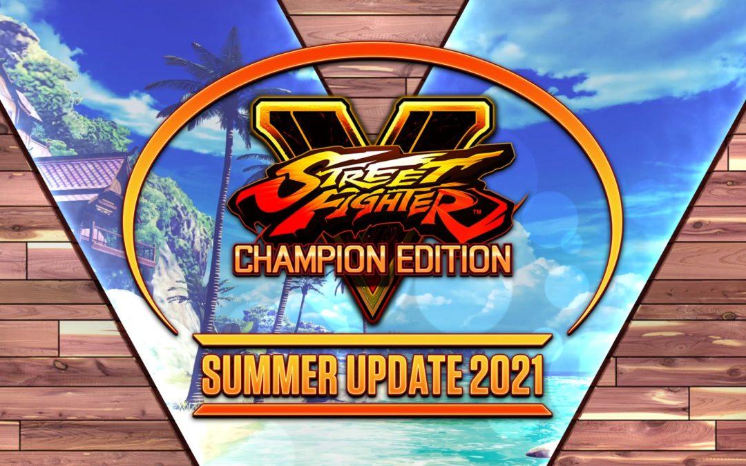 La actualización de verano de Street Fighter V viene con sorpresas