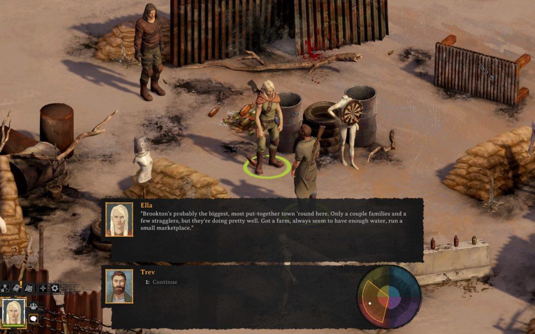 Broken Roads une a Fallout y Disco Elysium para sumergirnos en un RPG postapocalíptico.