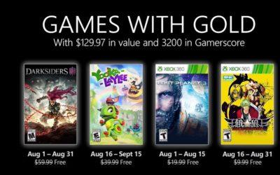 Anunciados los juegos de PlayStation Plus y Games with Gold para agosto