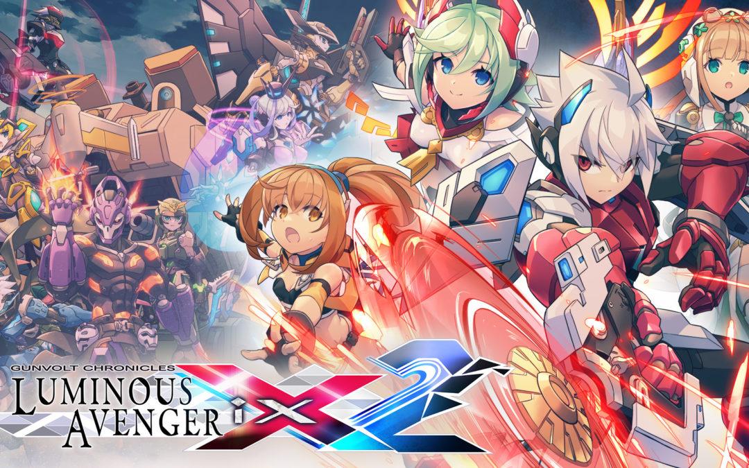Gunvolt a gogo: Tráilers de Azure Striker Gunvolt 3 y Gunvolt Chronicles: Luminous Avenger iX 2