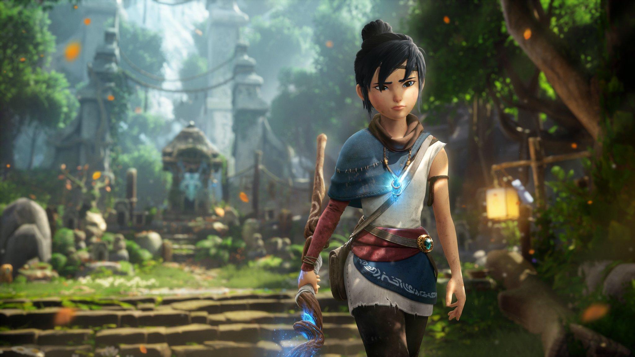 Tráiler de lanzamiento, modo foto y creación del personaje en Kena: Bridge of Spirits