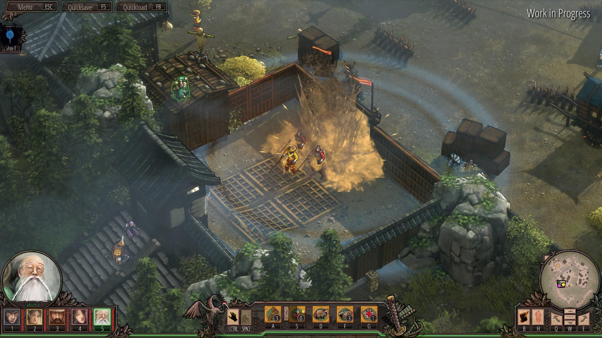 Shadow Tactics: Blades of the Shogun – Aiko's Choice acota su fecha de lanzamiento