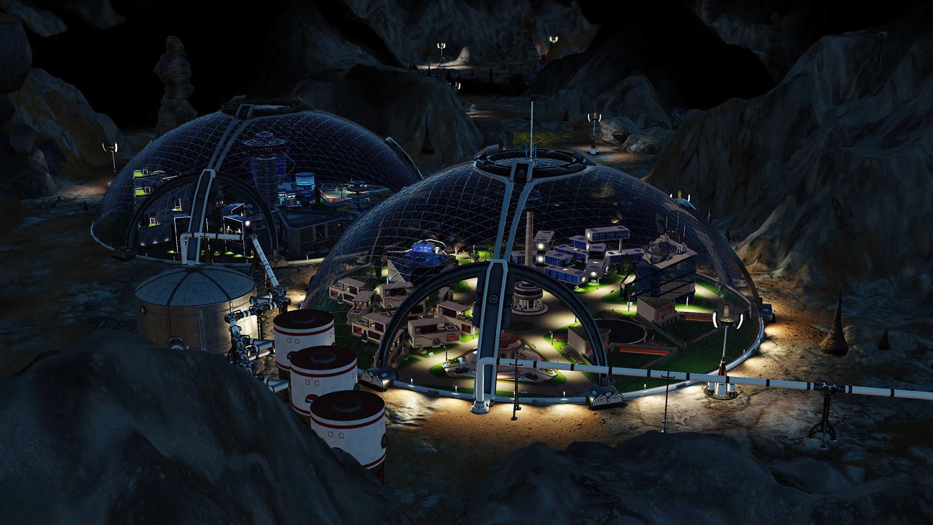 Surviving Mars y su nuevo DLC nos llevan al interior de Marte