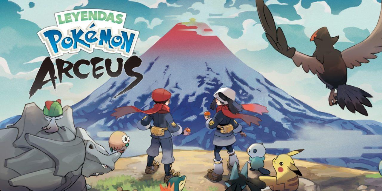 Pokémon Legends: Arceus tendrá una estructura similar a la de Monster Hunter sin mundo abierto